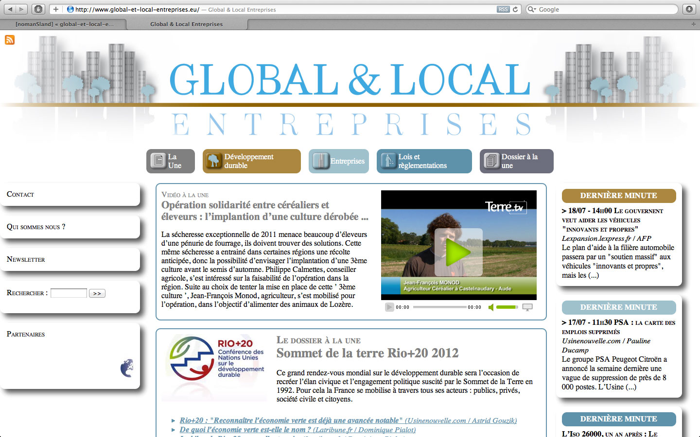 www.global-et-local-entreprises.eu Global & local